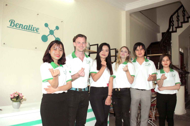 Đội ngũ giảng viên và hỗ trợ viên chuyên nghiệp và tận tâm vì học viên của Benative
