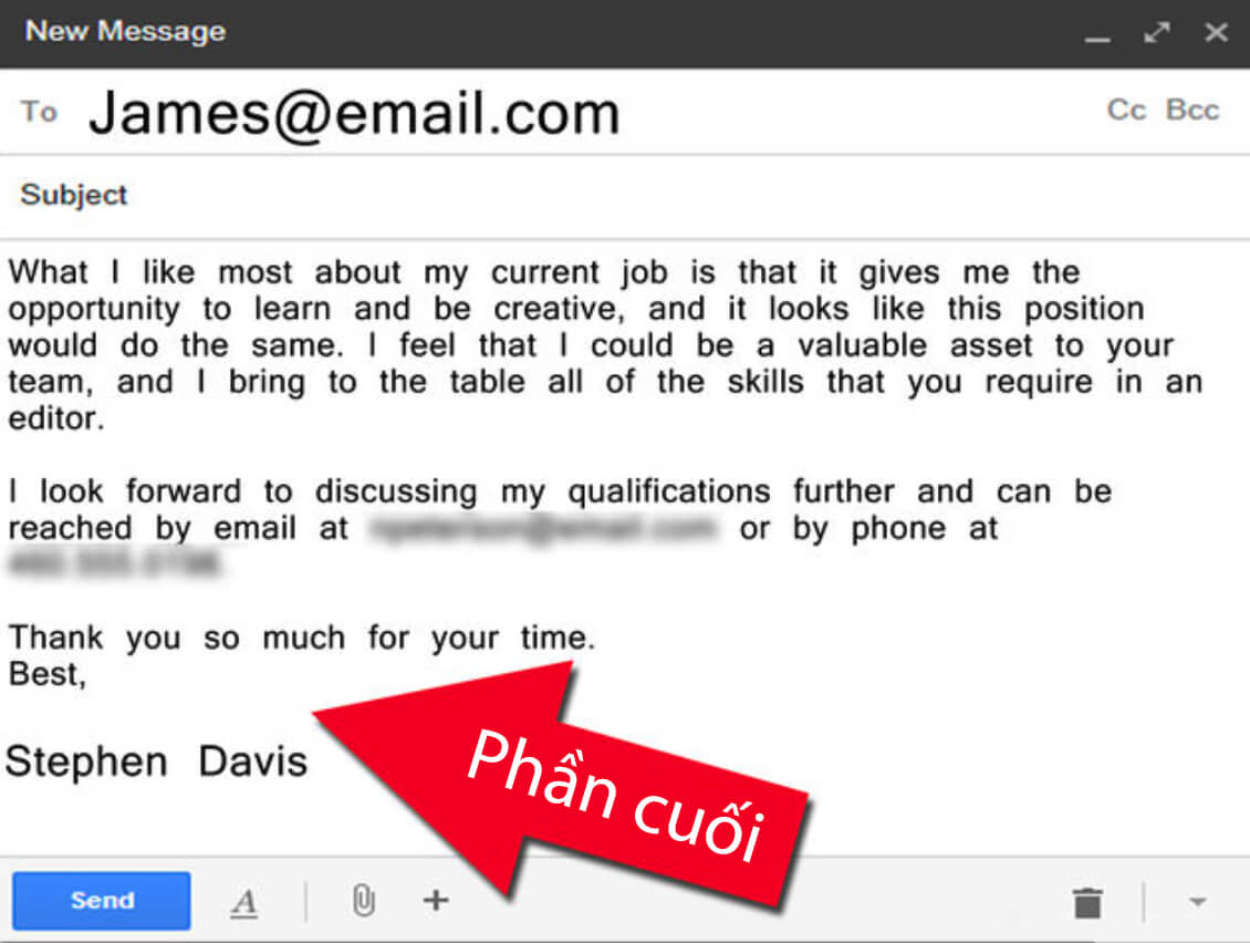 cach viet email tieng anh xin viec phan cuoi