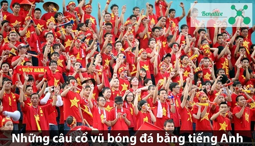 Nhung cau co vu bong da bang tieng Anh