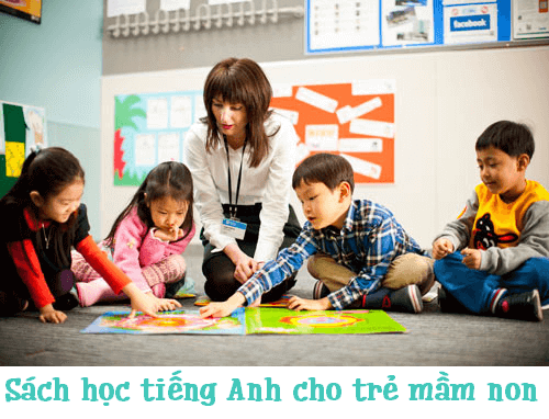 sach tieng anh cho tre mam non