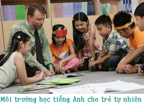 day tieng anh cho tre mam non