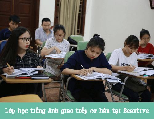 Lịch học lớp học tiếng Anh giao tiếp cơ bản B14, B15, B16