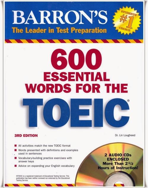 Luyện thi TOEIC với tài liệu tiếng Anh từ cơ bản đến nâng cao