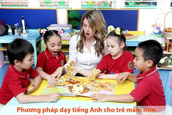 Phương pháp dạy tiếng Anh cho trẻ mầm non