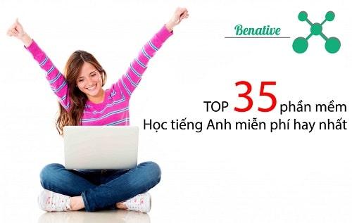 TOP 35 phần mềm học tiếng Anh miễn phí hay nhất