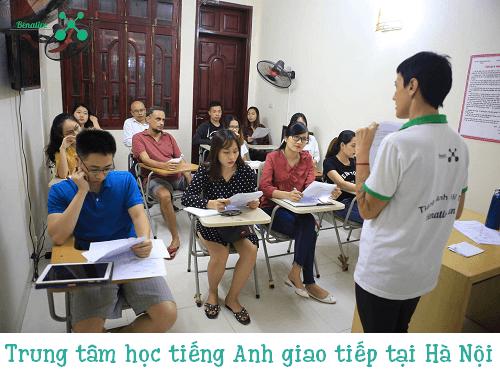 Top 6 trung tâm học tiếng Anh giao tiếp tại Hà Nội