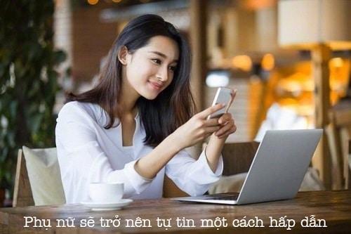 Học tiếng Anh giao tiếp cho phụ nữ sẽ trở nên tự tin một cách hấp dẫn