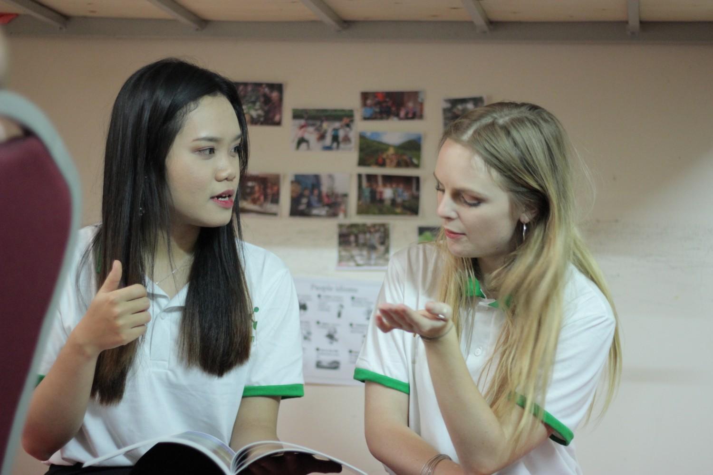 Học đi đôi với hành là tiêu chí hàng đầu của hình thức vừa ở vừa học tiếng Anh tại Benative