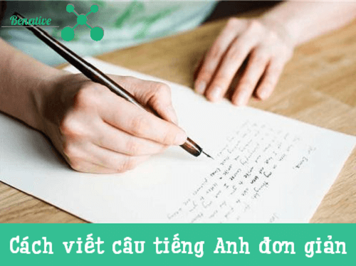 cach viet cau tieng anh don gian
