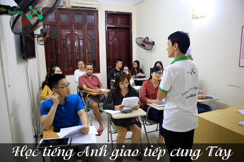 hoc tieng Anh giao tiep