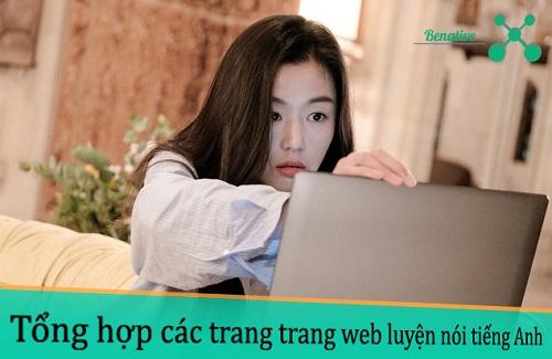 Tong hop trang web luyen noi tieng Anh