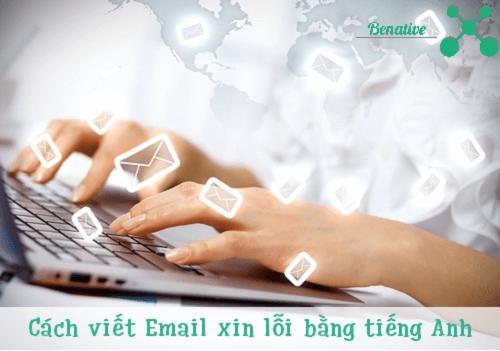 cach viet email xin loi bang tieng anh