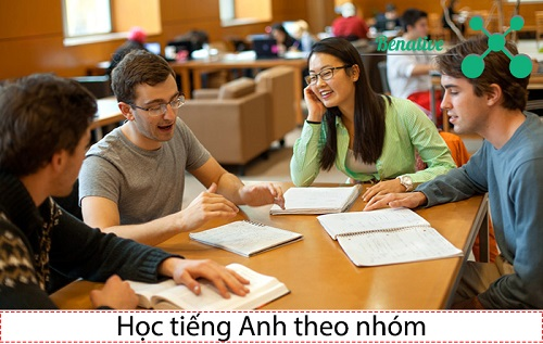 hoc tieng anh theo nhom