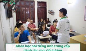 Học nói tiếng Anh trung cấp cùng Benative