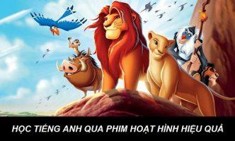 Bí quyết học tiếng Anh qua phim hoạt hình hiệu quả