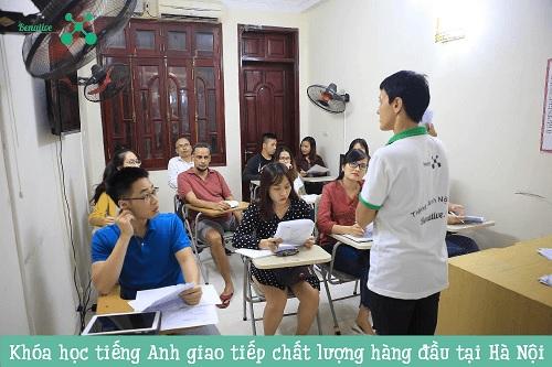 Benative – Khóa học tiếng Anh giao tiếp tại Hà Nội Top đầu