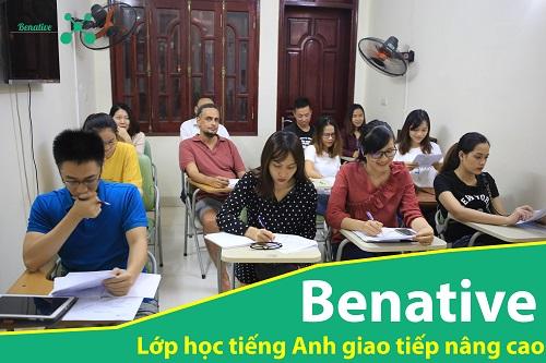 Lớp học tiếng Anh giao tiếp nâng cao tại Benative