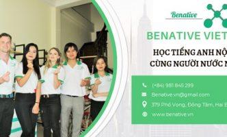 """""""Tìm đến"""" lớp học tiếng Anh giao tiếp tại Hà Nội Benative"""