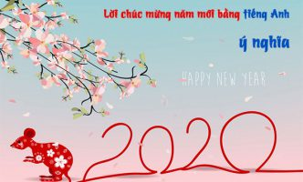 chúc mừng năm mới tiếng anh