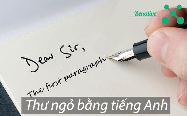 Mẫu thư ngỏ bằng tiếng Anh cho bạn dễ dàng xin việc