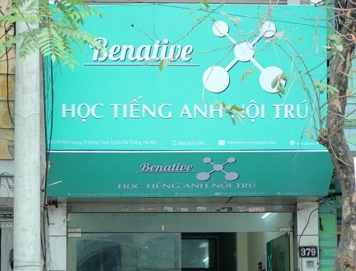 Trung tâm tiếng Anh Benative có tốt như lời đồn?
