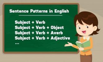 cấu trúc của một câu tiếng Anh