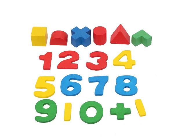 Chủ đề màu sắc, hình khối và con số