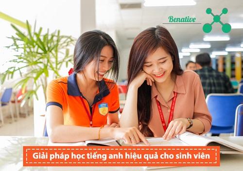 Những giải pháp học tiếng Anh hiệu quả cho sinh viên