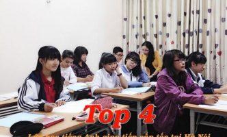 Top 4 lớp học tiếng Anh giao tiếp cấp tốc tại Hà Nội