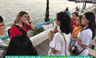 Các bước nói chuyện với người nước ngoài bằng tiếng Anh