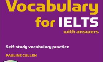 Tài liệu từ vựng tiếng Anh IELTS thông dụng nhất