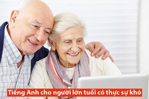Tiếng Anh cho người lớn tuổi có thực sự khó?