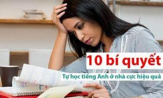 Tự học tiếng Anh ở nhà cực hiệu quả