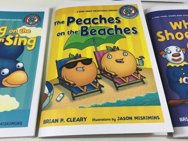 Sách học tiếng Anh cho trẻ em Sounds like Reading