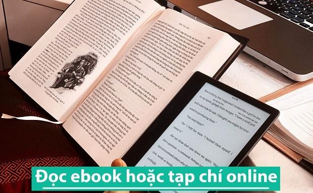 Đọc ebook hoặc tạp chí online