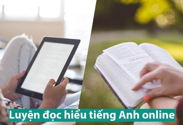 Trang web luyện đọc tiếng Anh online