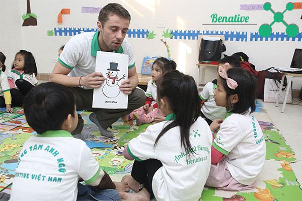 Lớp học tiếng Anh cho trẻ em
