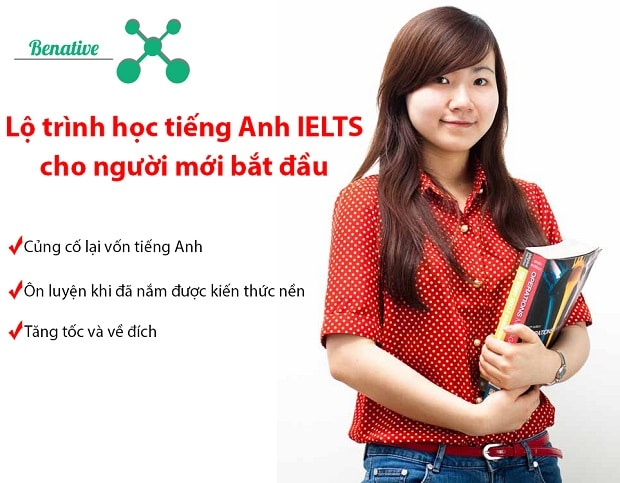 Lộ trình học tiếng Anh IELTS cho người mới bắt đầu