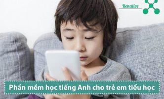 Phần mềm học tiếng Anh cho trẻ em tiểu học