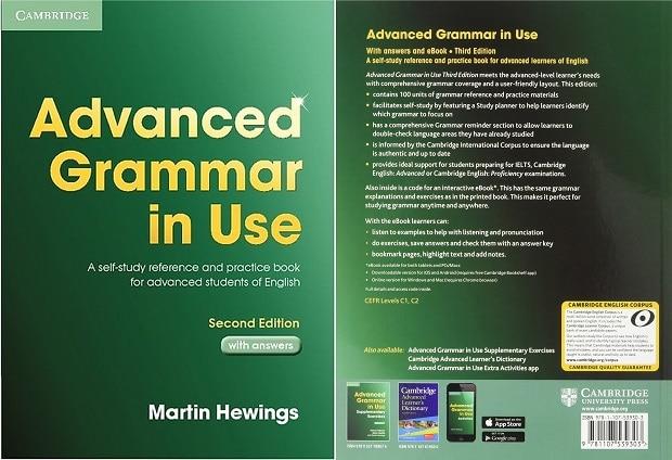 Sách học ngữ pháp IELTS dành cho những bạn band 7.0 trở lên -Advanced Grammar in Use