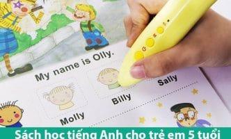 Sách học tiếng Anh cho trẻ em 5 tuổi