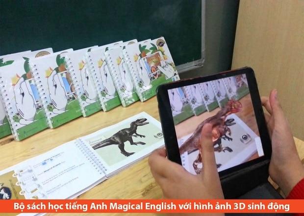 Sách học tiếng Anh cho trẻ 3 tuổi Magical English