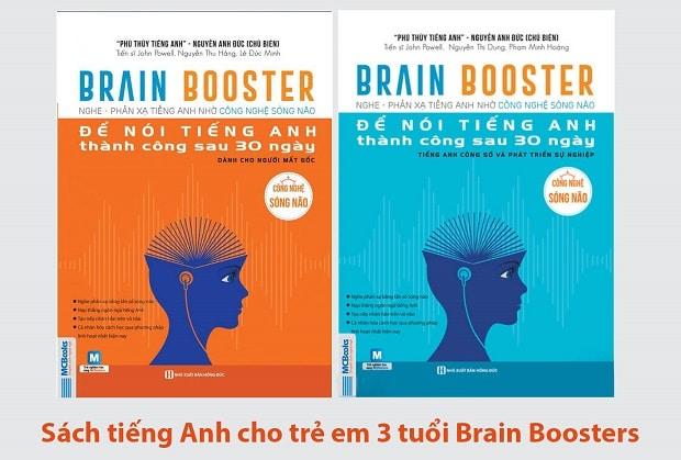 Sách tiếng Anh cho trẻ em 3 tuổi Brain Boosters