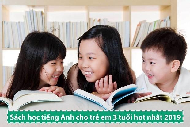 Sách học tiếng Anh cho trẻ em 3 tuổi