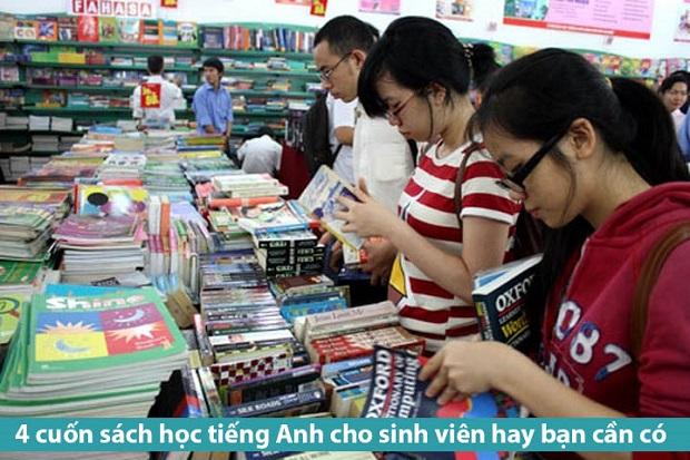 4 cuốn sách học tiếng Anh cho sinh viên hay bạn cần có