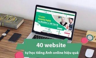 website giúp bạn tự học tiếng Anh online hiệu quả