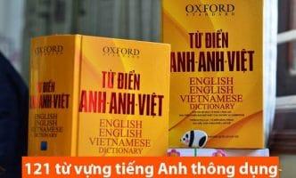 Những từ vựng tiếng Anh thông dụng nhất khi bạn mới học
