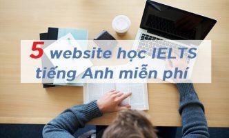 website hoc ielts tieng anh mien phi