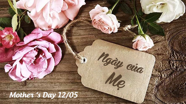 Học tiếng Anh theo chủ đề: Mother 's Day 12/05