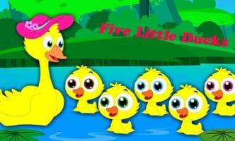Giúp bé học tiếng Anh qua bài hát Five Little Ducks
